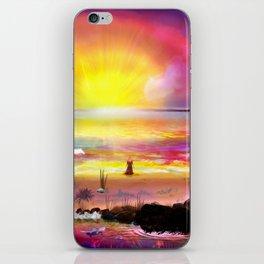 Catch the Sun iPhone Skin