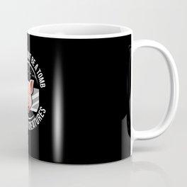 Vegetarian meme design vegan and animal lover Coffee Mug