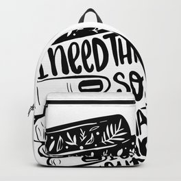 Addicted to coffee Backpack