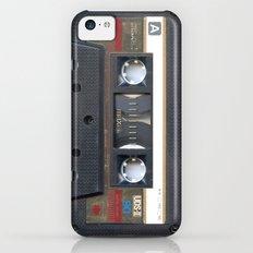 Cassette Gold Slim Case iPhone 5c