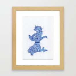 Badfinger - Baby  Blue Framed Art Print