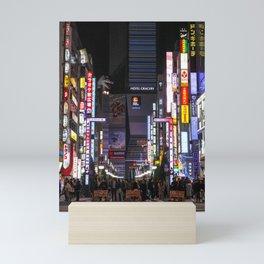 Shinjuku Godzilla, Tokyo Japan Mini Art Print