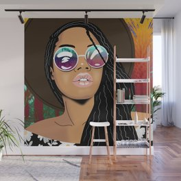 Coachella Chic Wall Mural