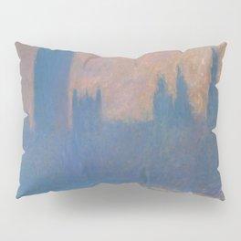 """Claude Monet """"The Houses of Parliament, Sunlight Effect"""" (1903) Pillow Sham"""