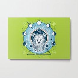 Cosmic Bear Metal Print