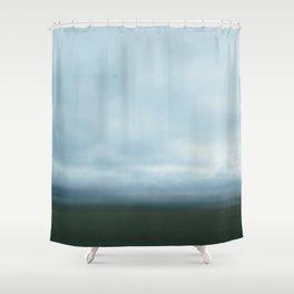 bluegrass parkway Shower Curtain