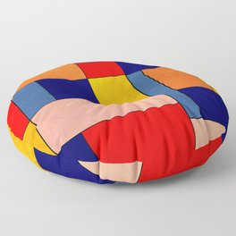 Abstract #340 Floor Pillow