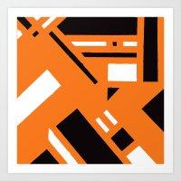 broadway Art Prints featuring 7av. Broadway by Michal Gorelick