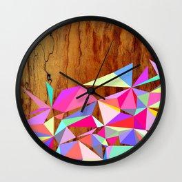 Wooden Multi Geo Wall Clock