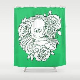 Boni Malevich Shower Curtain