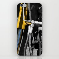 muscle iPhone & iPod Skins featuring Hydraulic Muscle by Digitalshot