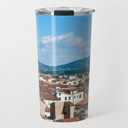 Florence cityscape from the Campanile - Florence Travel Mug