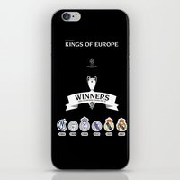 real madrid iPhone & iPod Skins featuring REAL MADRID by sokteulu