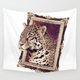 Space Jaguar Wall Tapestry