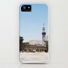 Temple of Luxor, no. 19 iPhone Case