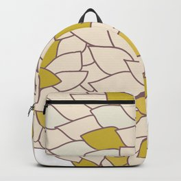 heart made of leaves Backpack