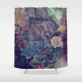 Skellie Girl Shower Curtain