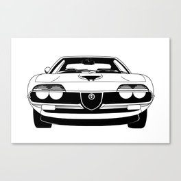 Alfa Romeo Montreal Canvas Print