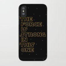 Use the Force! iPhone X Slim Case