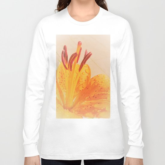 orange lilie Long Sleeve T-shirt