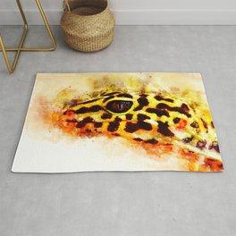 Leopard Gecko p2 Rug