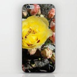 Prickly Pear Blooms iPhone Skin