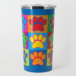 Pop Art Paws Travel Mug