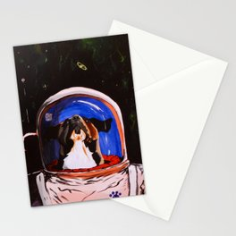 OP Rescue Laika Stationery Cards