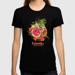 Fruits of Colombia | Frutas Colombianas T-shirt