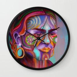 Respira Lucha Wall Clock
