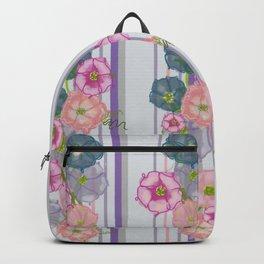 Dahlia Morning Glories Backpack