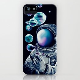 ASTRO--BUBBLE iPhone Case