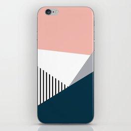 Colorful geometry 2 iPhone Skin