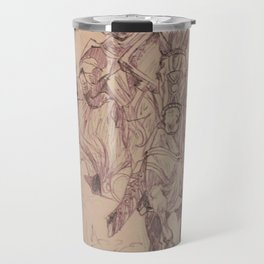 Knight through the Dust Travel Mug