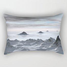 Frozen Arctic Sea Rectangular Pillow