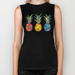 Pineapples Biker Tank