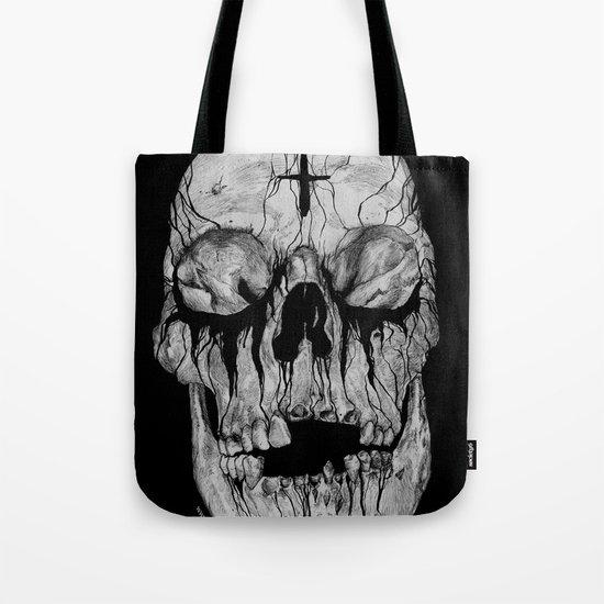 Black blooded Tote Bag