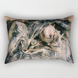 Norwegian Forest Cat Rectangular Pillow
