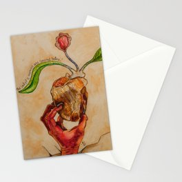 The Soul of a Woman was Created Below Stationery Cards