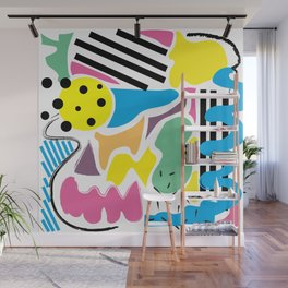 Composition Wall Mural