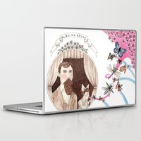 daria Laptop & iPad Skins featuring Take Me There by Brooke Weeber