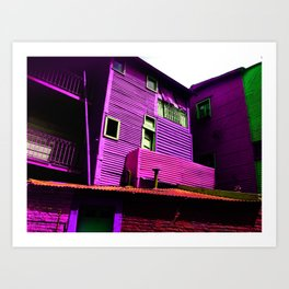Argentina - el caminito colors Art Print