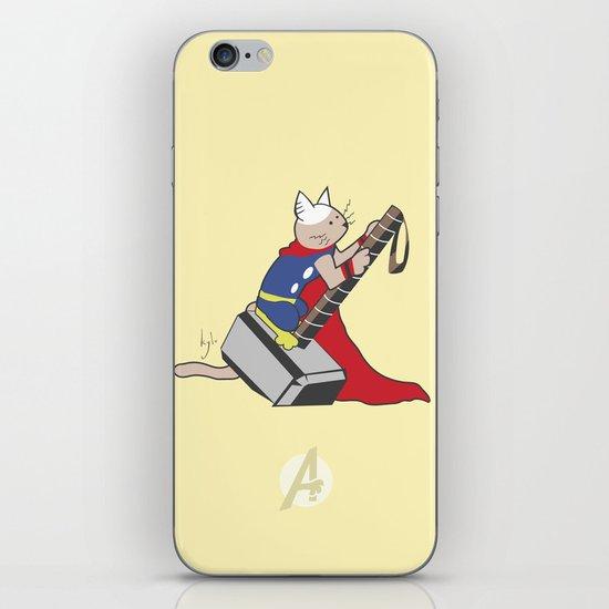 The Catty Thor iPhone & iPod Skin