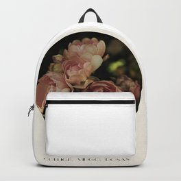 Collige, Virgo, Rosas Backpack