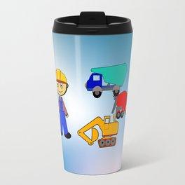 Kleiner Bauarbeiter Travel Mug