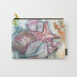 Seashells Art Illustration Carry-All Pouch