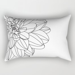 Dahlia 2 Rectangular Pillow