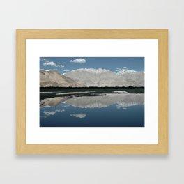 A Mountain In Ladakh Framed Art Print