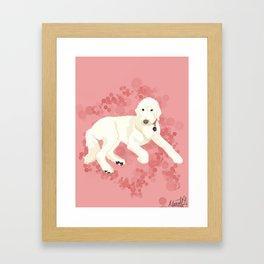 Sweet Canela Framed Art Print