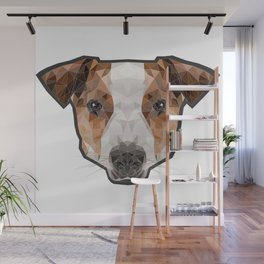 Jack Russell poly Wall Mural